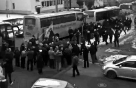 nazi busse Dresden 2011